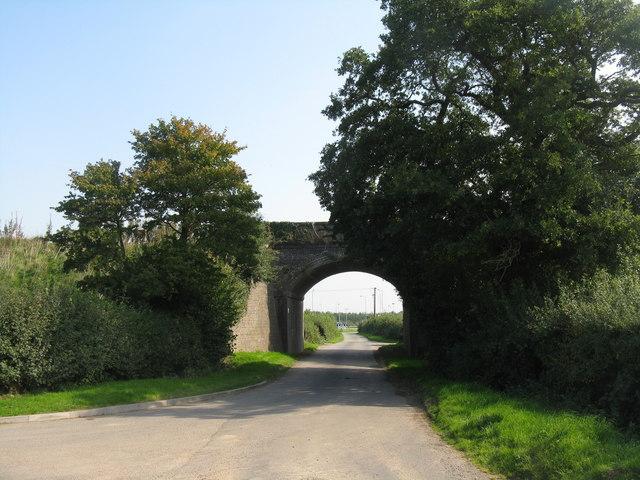 Railway bridge at Battlefield