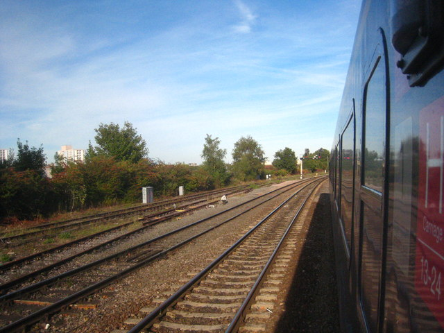 Railway lines at Windmill Hill