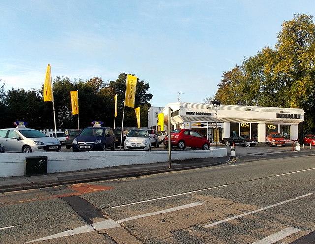 Renault Bury Motors, Bury