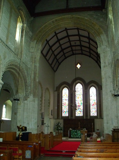 Interior of St. Andrew's, Steyning