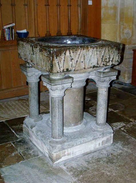 Font, St. Andrew's, Steyning