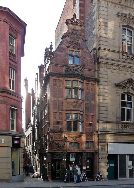 Mr Thomas's Chop House, Cross Street, Manchester