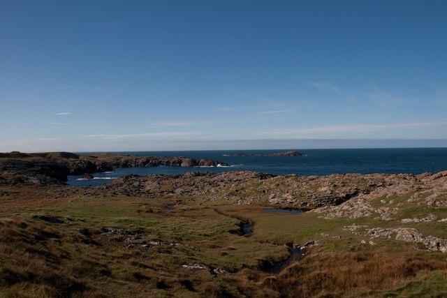 Coastal scene on west Islay, near Claddach