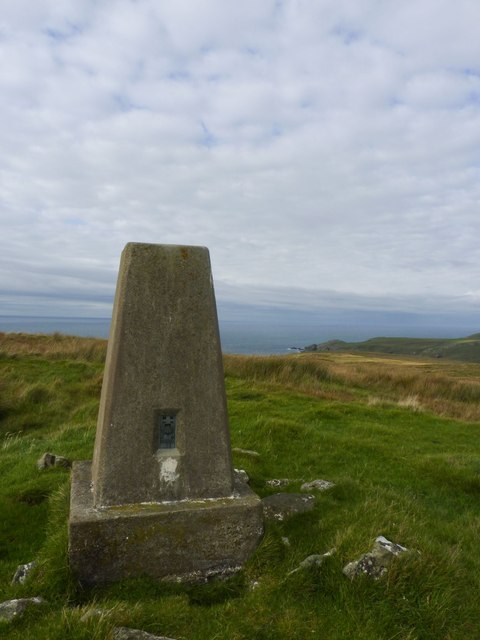 Trigpoint, Ben Cladville, Islay