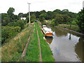 SJ6874 : Lostock Gralam - Trent & Mersey Canal north of A559 Bridge by Dave Bevis