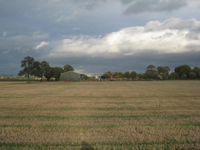 View towards New Village Farm
