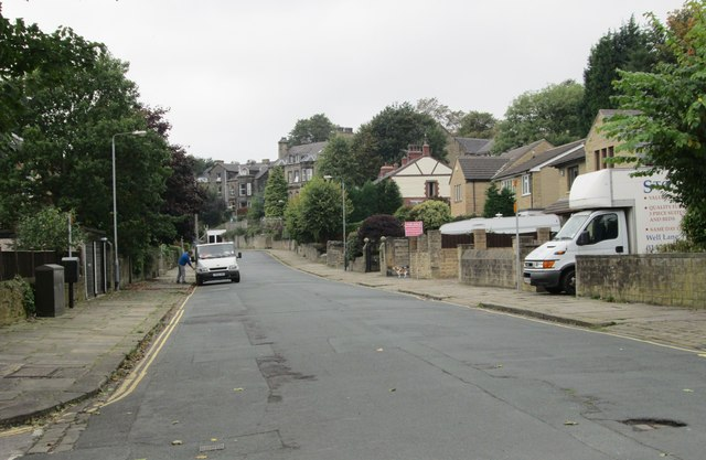 Rothwell Road - viewed from Rothwell Drive