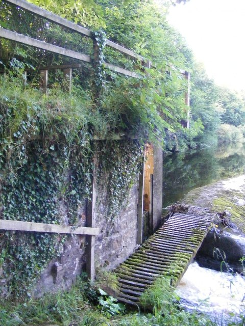 Hollows Mill - lade intake by-pass