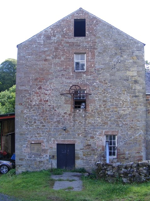 Hollows Mill from farmyard