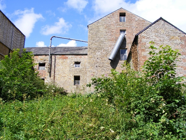 Hollows Mill from the riverbank