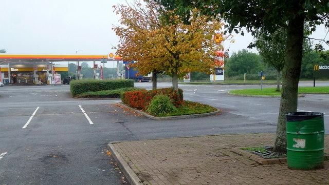 Taunton Deane in autumn