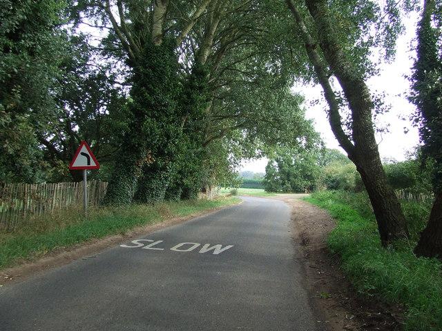 Bend Ahead