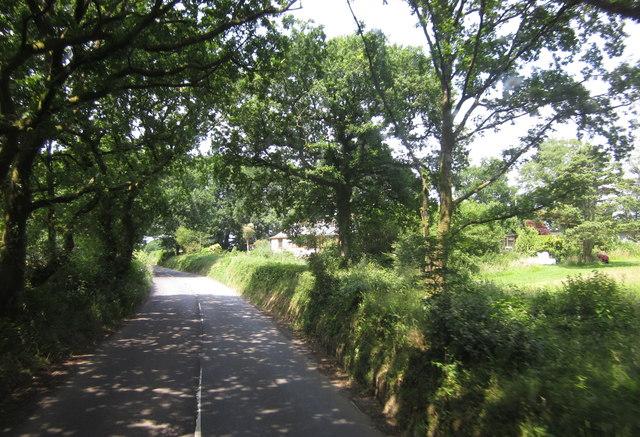 B3137 on Blagrove Hill