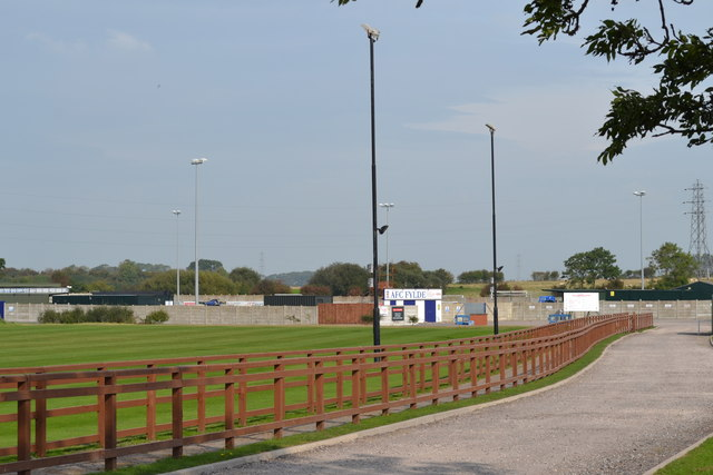 AFC Fylde, Kellamergh Park, Bryning Lane, Warton - 2