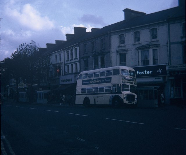 An Eastbourne bus in Terminus Road