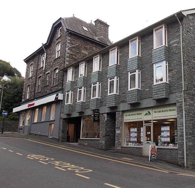The Lake District Walker shop, Ambleside