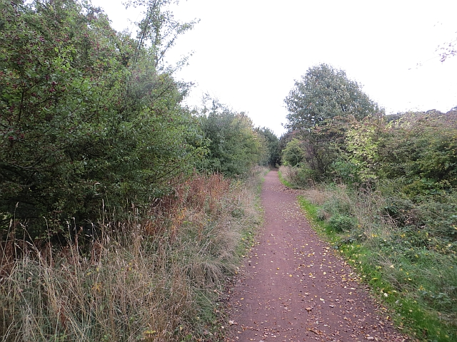 Haddington railway path, Setonhill
