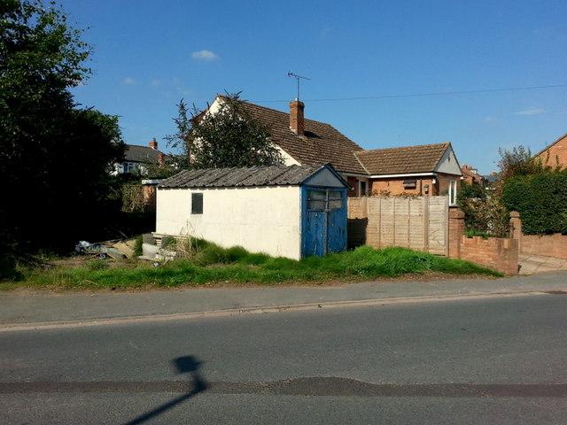 Old garage on Alton Road