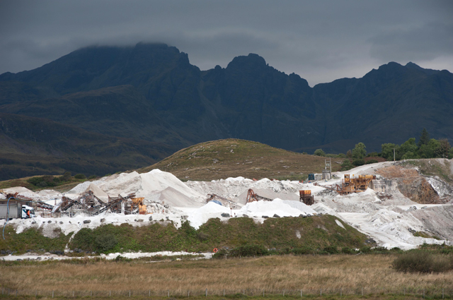 The Skye marble Quarry at Torrin
