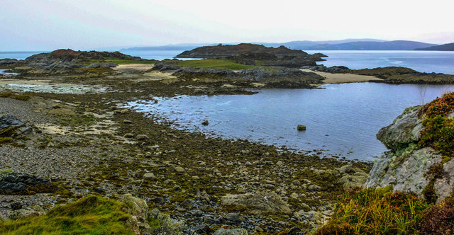 The Sandaig Islands at Low Tide