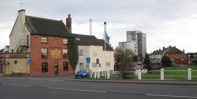Castle and coffee-Hatton, Derbyshire