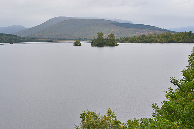 The eastern end of Loch Arkaig