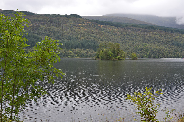 View over Loch Arkaig