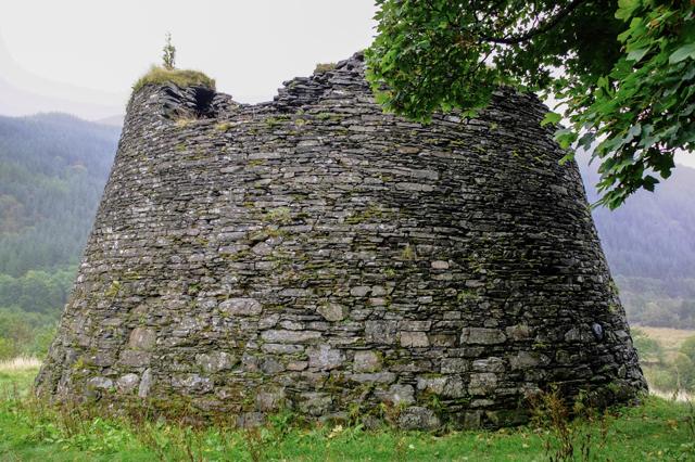 Dun Troddan from the rear