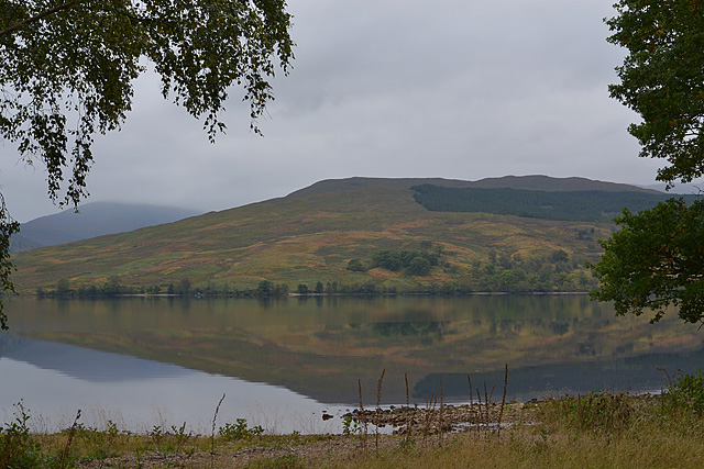 View across Loch Arkaig from near Ardechive