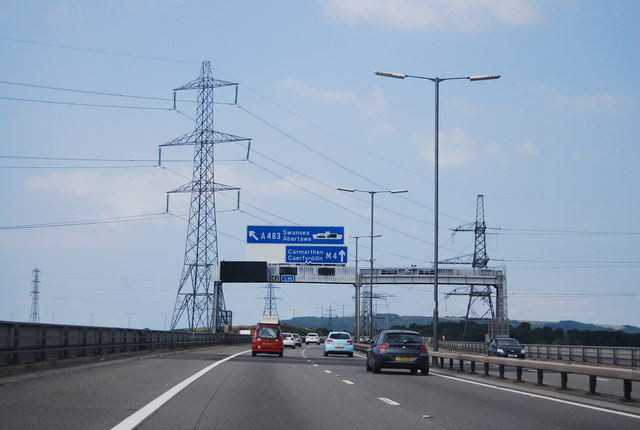 M4, half mile to Junction 42