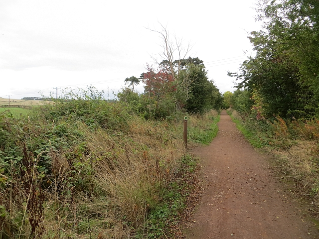 Haddington railway path
