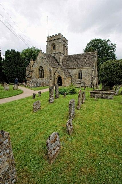 The Church of St Kenelm, Minster Lovell