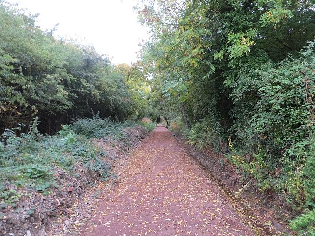 Haddington railway path