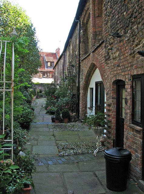 King's Lynn: Priory Lane Cottages