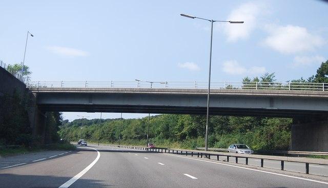 Crymlyn Road Bridge, M4
