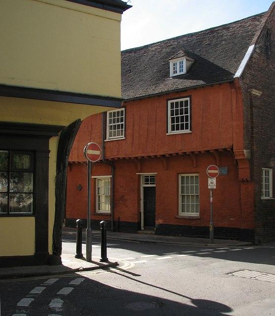 King's Lynn: October sunlight in Nelson Street