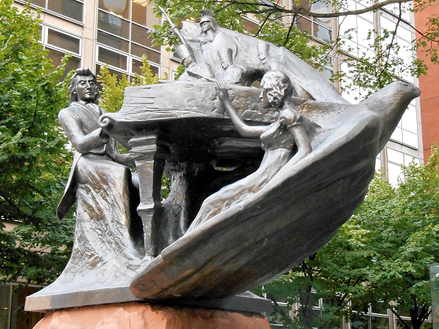 Chopin Statue, Deansgate