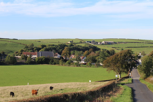 View towards Dalrymple
