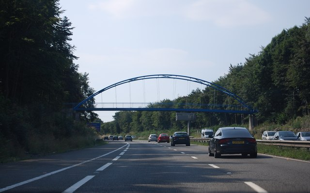 Footbridge over the M4