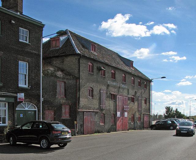 King's Lynn: quayside grain warehouse