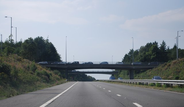 M4, Junction 47 overbridges