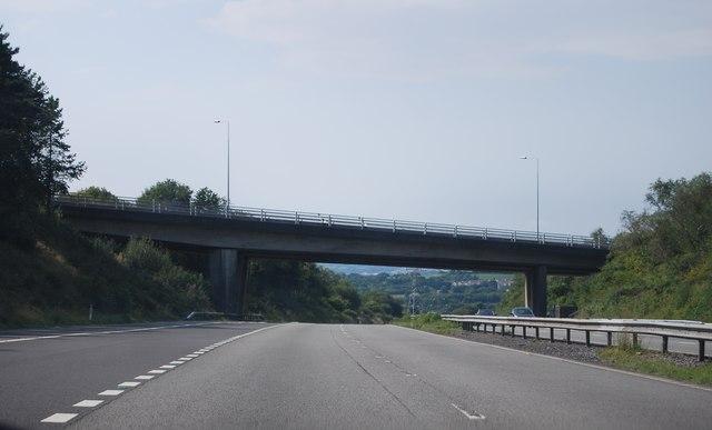 A48 bridge, M4