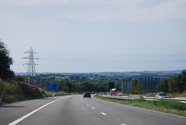 M4, west of J47