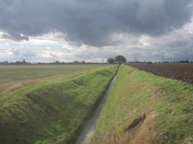 Drain north of Faxfleet