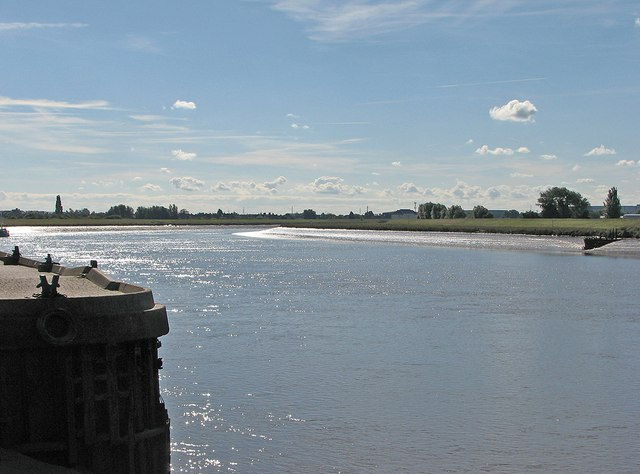 King's Lynn: the Great Ouse from Purfleet Quay