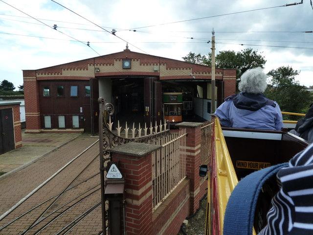 Seaton Tramway Depot