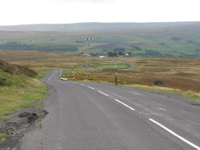 Road to Stanhope (B6278)