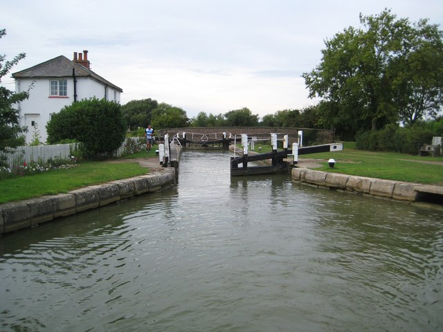 Grand Union Canal: Stoke Hammond Lock
