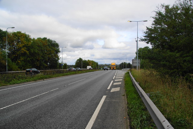 The A556, Chester Road