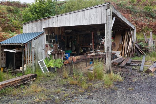 Sawmill in Glen More